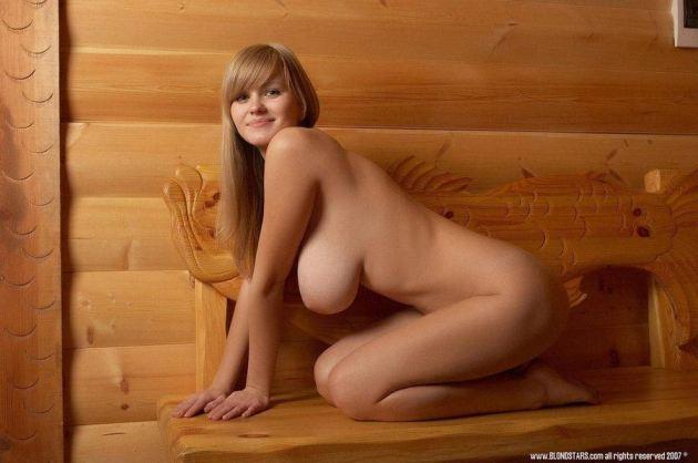 Sauna nude girl Naked in