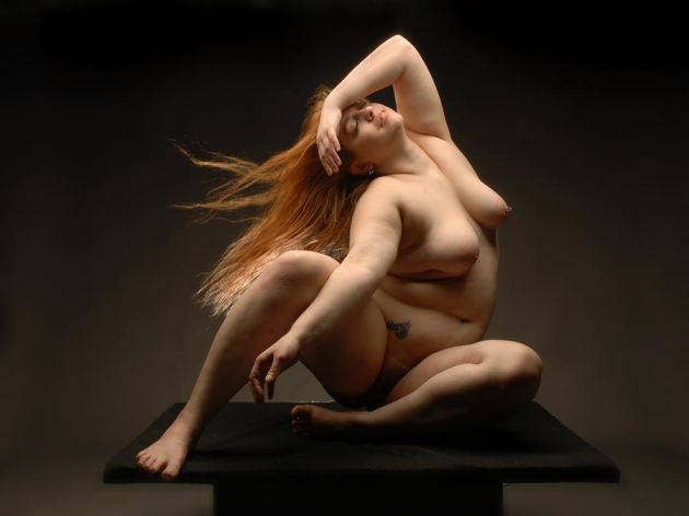 Full Figured Nude Art