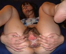 Gaping Hairy Pussy Mature