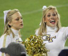 Georgia Tech College Cheerleaders
