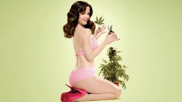 Girl Cutting Plants