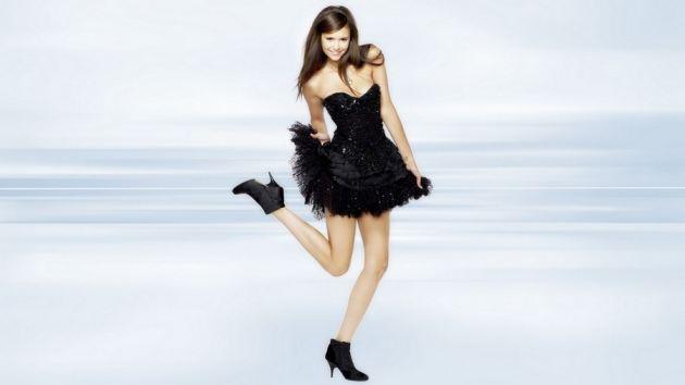 Girl In Black Skirts