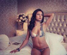 Girl Natalia Belova Underwear Bedroom Sexy Body