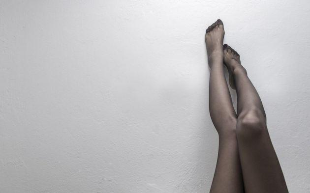 Girl Sexy Legs Stockings Wall Mood