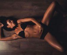 Girl Touching Herself Sexy Body