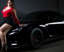 Girls Cars Sexy Hot Babe