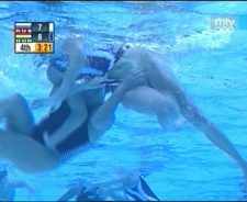 Girls Water Polo Pussy Slips