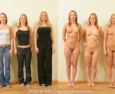 Groups Dressed Undressed Before And After