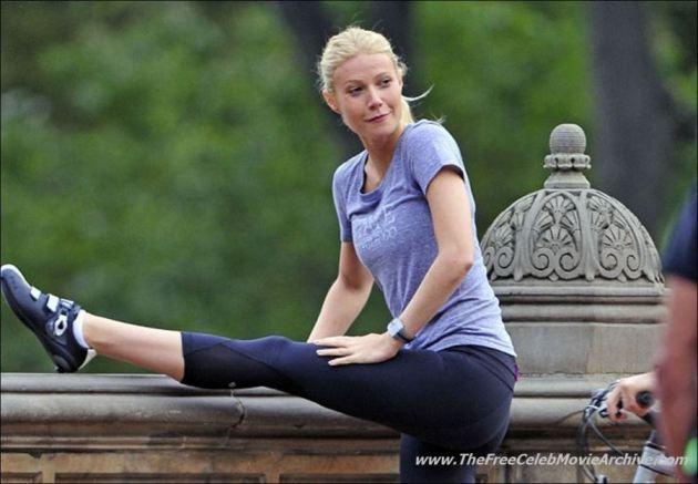 Gwyneth Paltrow Yoga