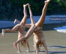 Gymnast Girl Nude Beach