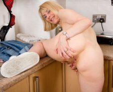 Hazel May Mature Porn
