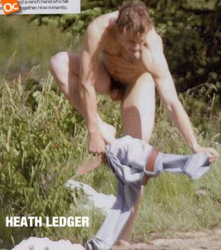 Heath ledger naked nude