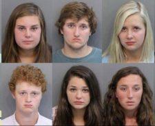 High School Girl Arrested
