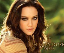 Hilary Duff Brunette