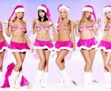Hot Christmas Girl Santa
