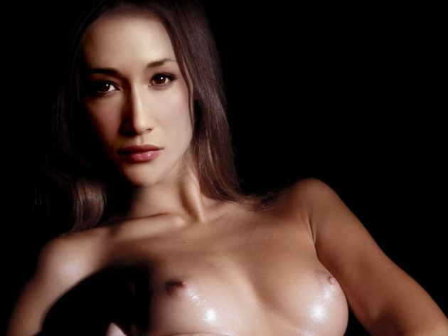 Hot Sexy Maggie Q Nude