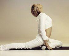 Hot White Yoga Girl