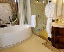 Hotel Bathroom With Jacuzzi