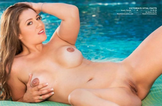 Hustler Victoria James Teacher Nude