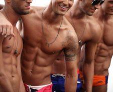 I Tan Boys With Abs