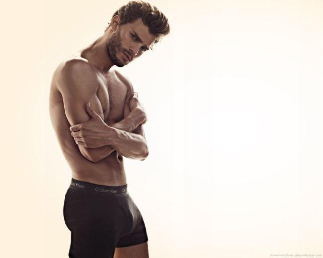 Jamie Dornan Calvin Klein Model