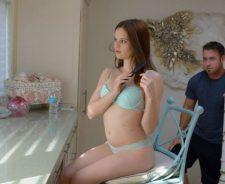 Jenna Ross Wow Network Lingerie Teen Burnette Long Hair Sweetie Pie Beautiful