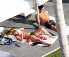 Jennifer Aniston Red Bikini