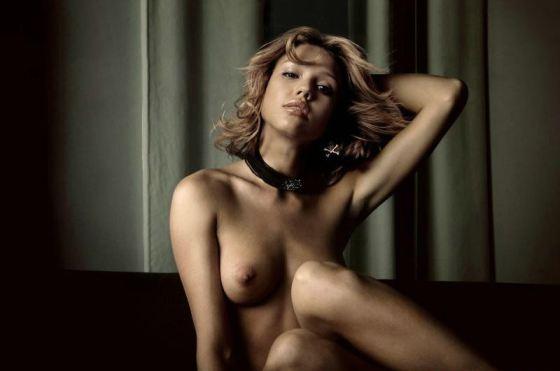 Jessica Alba Nude Playboy