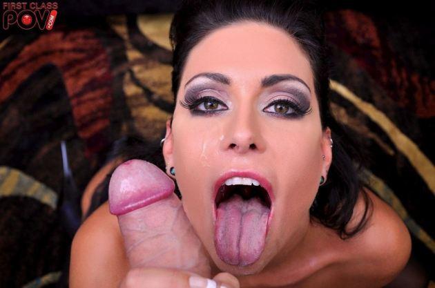 Jessica Jaymes First Class Pov Facial Tongue