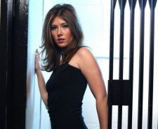 Jewel Staite Black Dress