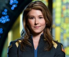 Jewel Staite Smiling