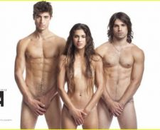 Justin Gaston Naked