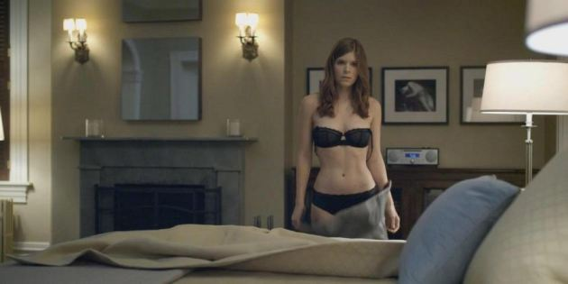 Kate Mara House Of Cards Scene