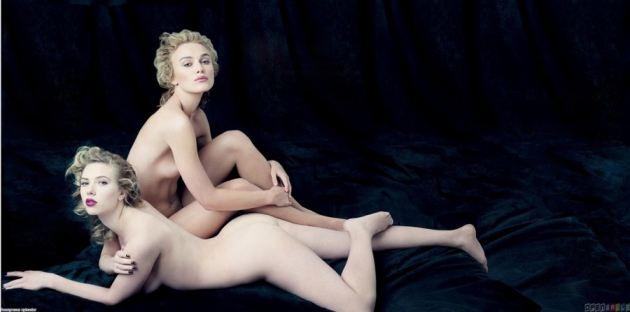 Keira Knightley Scarlett Johansson Nude