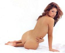 Kelly Brook Undressed Sitting On Floor