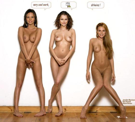 Keri Russell Jennifer Morrison Nude