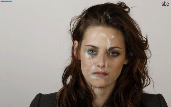 Kristen Stewart Cum In Face