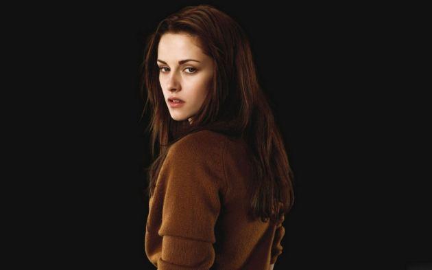 Kristen Stewart Cute Red Dress Back