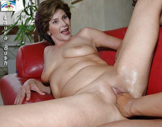 Laura Bush Nude Fakes