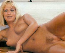 Leggy Blonde Babe