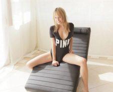 Light Room Only Shirt Blonde Girl Legs