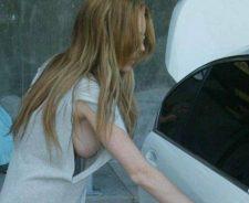 Lindsay Lohan Big Tits
