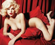 Lindsay Lohan Marilyn Monroe Nude