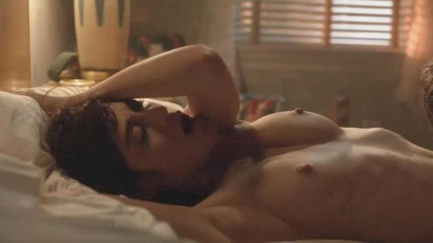 Lizzy Caplan Nude Masters Of Sex Scene