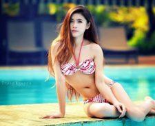 Lovely Asian Girl Sexy Bikini