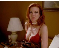 Marcia Cross Cleavage