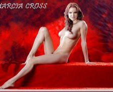 Marcia Cross Legs Crossed
