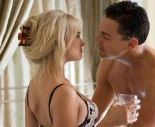 Margot Robbie Wolf Of Wall Street Scene