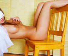Maria Ryabushkina Pussy Erotic Sexy Chair