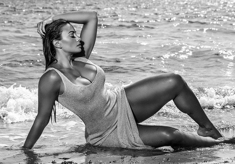 Maria Villalba black and white